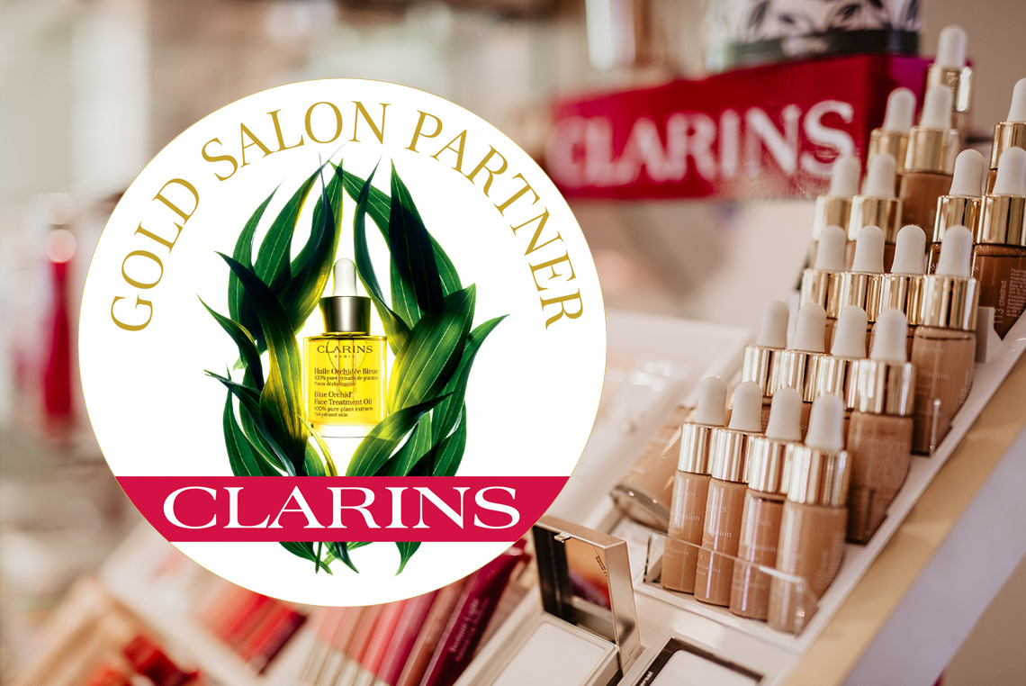 The Courtyard awarded Clarins Gold Salon status