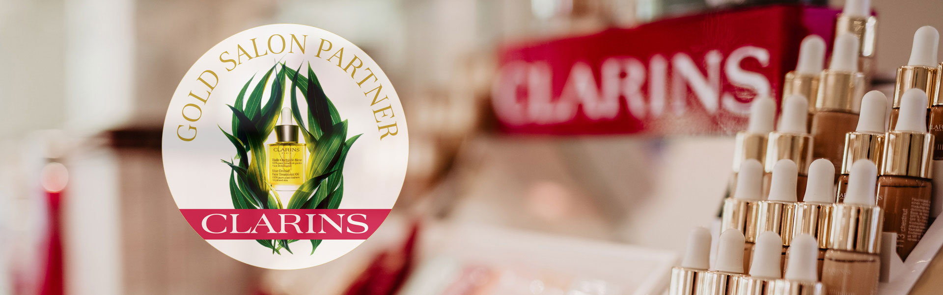 Clarins Gold Standard Partner